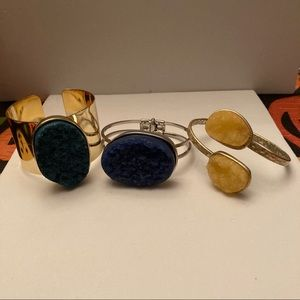Bundle of Rock Bracelets